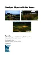 Study of Riparian Buffer Areas [Minnesota Board of Water & Soild Resources]