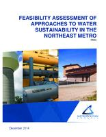FEASIBILITY ASSESSMENT OF APPROACHES TO WATER SUSTAINABILITY IN THE NORTHEAST METRO Final