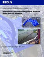 Development of flood-inundation maps fro the Mississippi River in Saint Paul, Minnesota