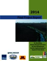 2014 Final Project Report for Identifying Priority Management Zones for Best Management Practice Implementation in Impaired Watersheds
