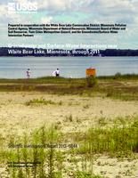 Groundwater and Surface-Water Interactions near White Bear Lake, Minnesota, through 2011