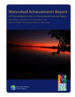 Watershed Achievements Report: 2015 Annual Report