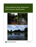 Yellow Medicine River Watershed Biotic Stressor Identification