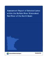 Assessment Report of Selected Lakes within the Buffalo River Watershed Red River of the North Basin