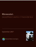 Minnesota's Ground Water Condition: A Statewide View