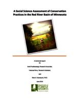 A Social Science Assessment of Conservation Practices in the Red River Basin of Minnesota