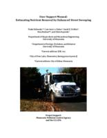 User Support Manual: Estimating Nutrient Removal by Enhanced Street Sweeping