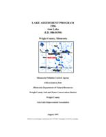 Lake Assessment Program - Ann Lake