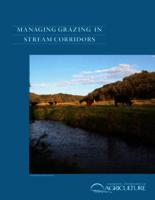 Managing Grazing in Stream Corridors