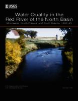 Water Quality in the Red River of the North Basin