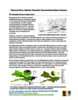 Minnesota River, Mankato Watershed Characterization Report Summary