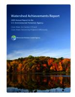 Watershed Achievements Report: 2009 Annual Report