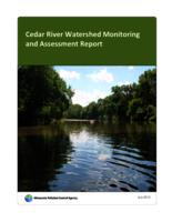 Cedar River Watershed Monitoring and Assessment Report