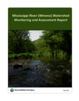 Mississippi River (Winona) Watershed Monitoring and Assessment Report