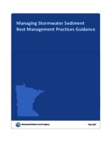 Managing Stormwater Sediment Best Management Practices Guidance