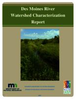 Des Moines River Watershed Characterization Report