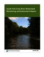 South Fork Crow River Watershed Monitoring and Assessment Report