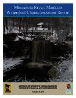 Minnesota River, Mankato Watershed Characterization Report - Draft
