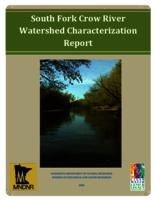 South Fork Crow River Watershed Characterization Report