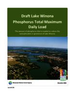 Draft Lake Winona Phosphorus Total Maximum Daily Load