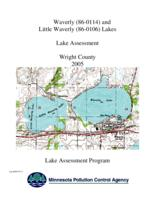 Lake Assessment Program - Waverly and Little Waverly Lakes, Wright County
