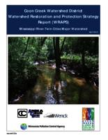 Coon Creek Watershed District Watershed Restoration and Protection Strategy Report (WRAPS)