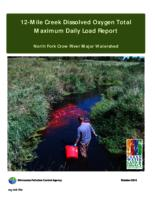 12-Mile Creek Dissolved Oxygen Total Maximum Daily Load Report