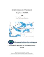 Lake Assessment Program - Long Lake, Otter Tail County
