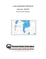 Lake Assessment Program - Lida Lake, Otter Tail County