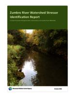 Zumbro River Watershed Stressor Identification Report