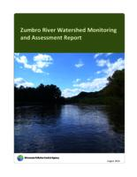 Zumbro River Watershed Monitoring and Assessment Report