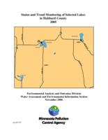 Status and Trend Monitoring of Selected Lakes in Hubbard County 2005