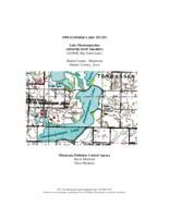 1998 Summer Lake Study - Lake Okamanpeedan, Martin County
