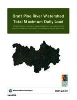 Pine River Watershed Total Maximum Daily Load -Draft