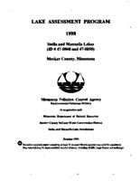 Lake Assessment Program - Stella and Manuella Lakes, Meeker County