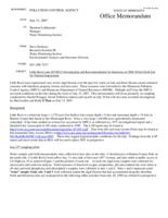 Little Rock Lake (05-0013) Investigation and Recommendation for Inclusion on 2008 303(d) Draft List for Nutrient Impairment