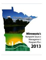 Minnesota 2013-2017 Nonpoint Source Management Program Plan
