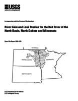 River Gain and Loss Studies for the Red River of the North Basin, North Dakota and Minnesota