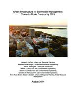 Green Infrastructure for Stormwater Management: Toward a Model Campus by 2025