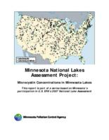 Minnesota National Lakes Assessment Project: Microcystin Concentrations in Minnesota Lakes