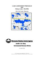 Lake Assessment Program 1997 - Pelican Lake, Otter Tail County, Minnesota