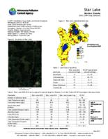Star Lake Meeker County2010 CLMP+ Data Summary