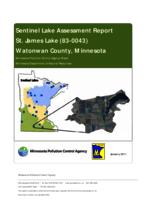Sentinel Lake Assessment Report St. James Lake (83-0043) Watonwan County, Minnesota