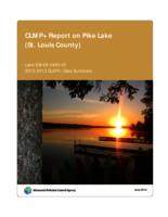 CLMP+ Report on Pike Lake (St. Louis County)