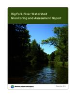 Big Fork River Watershed Monitoring and Assessment Report