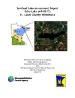 Sentinel Lake Assessment Report Echo Lake (69-0615) St. Louis County, Minnesota