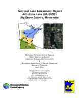 Sentinel Lake Assessment Report Artichoke Lake (06-0002) Big Stone County, Minnesota