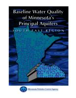 Baseline Water Quality of Minnesota's Principal Aquifers: South East Region
