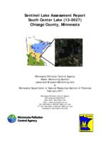 Sentinel Lake Assessment Report South Center Lake (13-0027) Chisago County, Minnesota