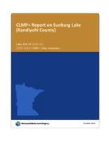 CLMP+ Report on Sunburg Lake(Kandiyohi County)